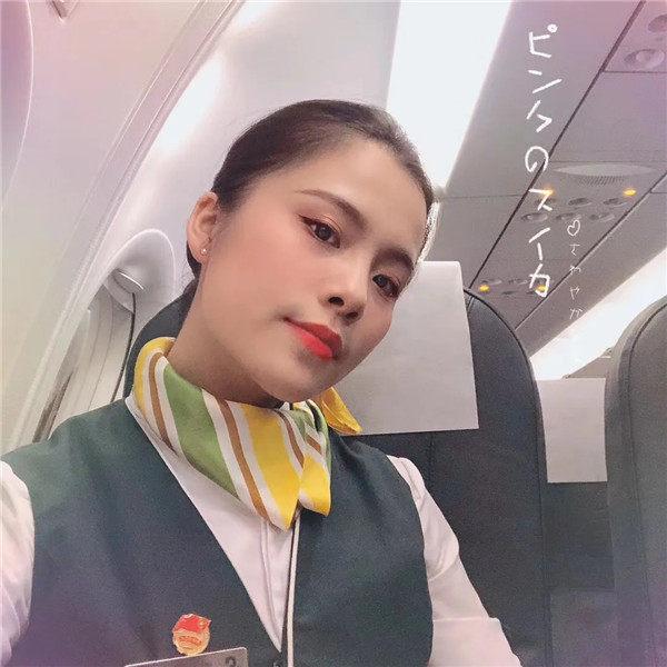 春秋航空空姐缪中萍:喜欢飞行这件事,一直未变