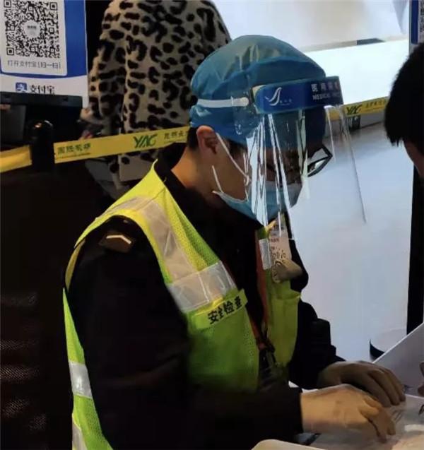 昆明长水机场安检员杨鹏:穿上安检制服,我代表的并非我个人